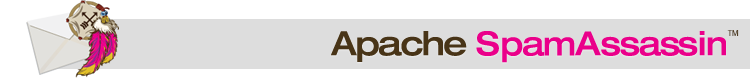 The Apache SpamAssassin Project Logo Banner